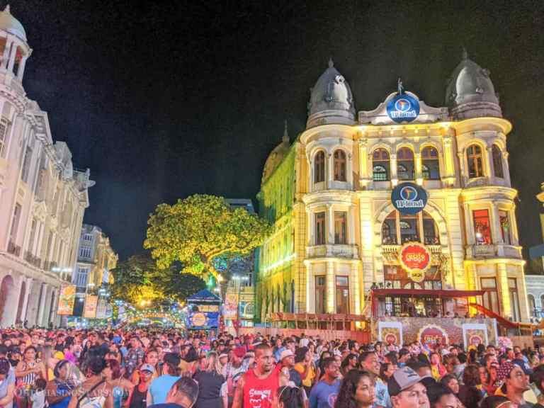 Celebrating Carnaval in Recife Antigo