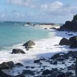 小浜キャンプ場の脇の海岸