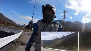 GoPro hero7紅葉を見に日帰り700kmツーリング