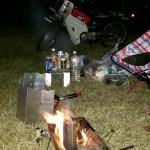 ❇スーパーカブ(消火器カブ)⑫近場でキャンプ、弓削緑地公園でキャンプして来ました☺