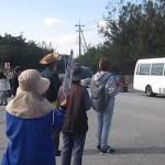 土砂投入に抗議!12月14日のキャンプシュワブゲート前と辺野古浜での集会