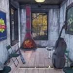 Fallout76 キャンプ紹介番外編:モダンな暖炉を買ってみた
