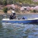 伊自良湖のワカサギ釣り、追っかけ 2011.04.09    1