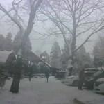雪のキャンプアンドキャビンズから那須街道 Ver 1