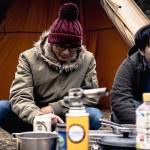 【キャンプ】男二人のシュールなデイキャンプ。