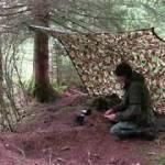 森の中で料理する 野生のキャンプ 自然の音 [森林浴]