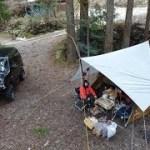 20190412 その1 ジムニーで行く誕生日キャンプ 椿荘オートキャンプ場