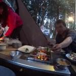 春の伊豆でファミリーキャンプ