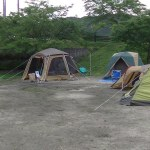 笠置キャンプ/会社の仲間とキャンプ