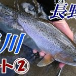 長野県 犀川 釣行 パート② ニジマス