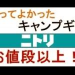 キャンプ道具紹介 初心者ソロキャンが選ぶニトリ愛用BEST3 Camping movie in japan Nitori's best 3 ~大人のキャンプ部~