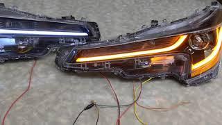 カローラツーリング シーケンシャルウィンカー 自作 ヘッドライト 加工