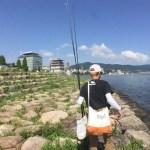 琵琶湖バス釣りライブ7月19日