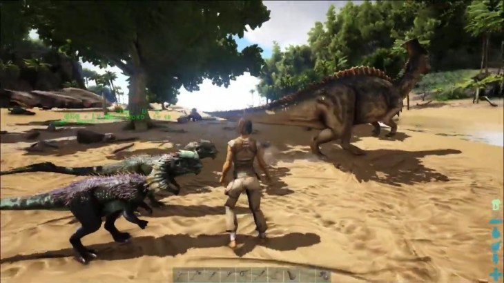 【ARK】南の島で恐竜たちと自給自足生活【Part2】~第1拠点の建築~