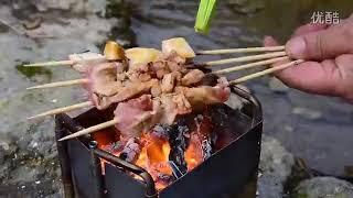 超強力バーナー アウトドア キャンプ 道具 本格 料理 クッカー 超強火 BBQ 焼肉