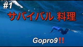 【サバイバル料理】二泊三日海でサバイバルクッキングをgopro hero 9で撮ってきた!