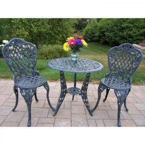 3pc patio bistro furniture set outdoor