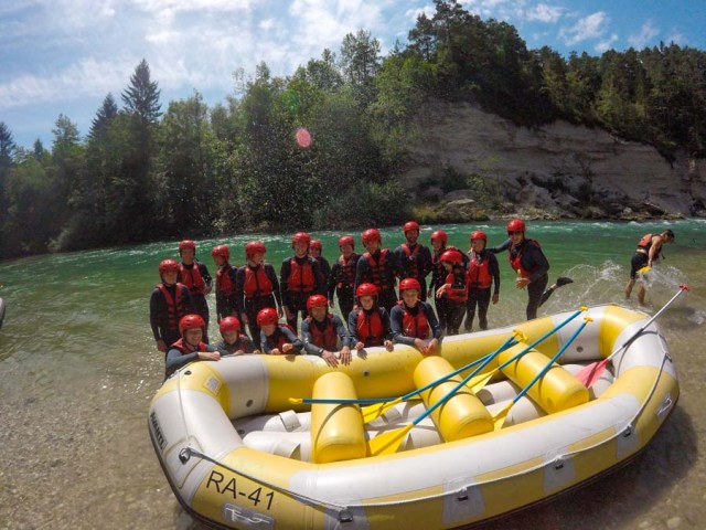 Caynoning Rafting Bled Lake Trips Slovenia Activity