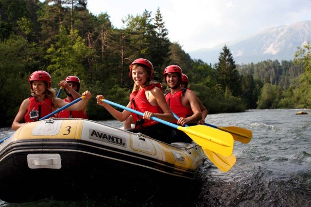 Best Rafting Bled Lake Slovenia Activity
