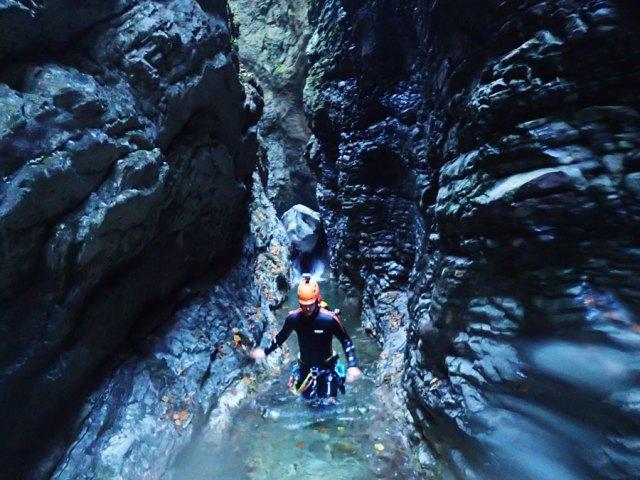 Bovec Kozjak Canyoning Slovenia Bled