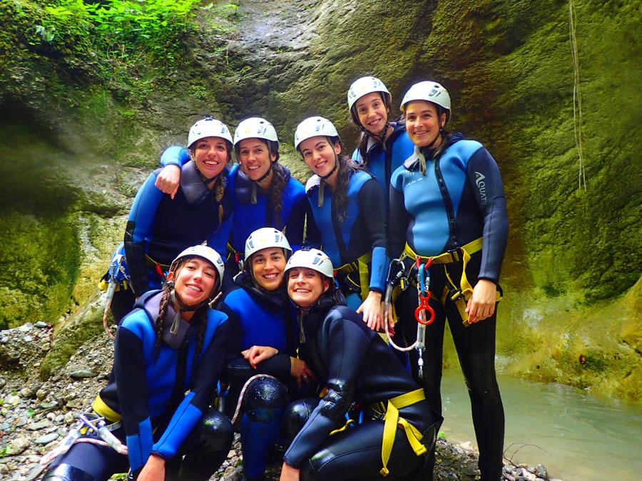 Canyoning Rafting Zipline Package