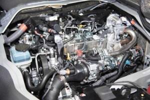 4型後期(5型)ハイエース 1GD-FTV(2.8L)ディーゼルエンジン