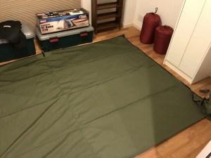 SOTO Labo(ソトラボ) cotton kokage tarp シームグリップ 施工加工 方法