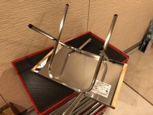 ユニフレーム(UNIFRAME)焚き火テーブル 利用方法 設営方法