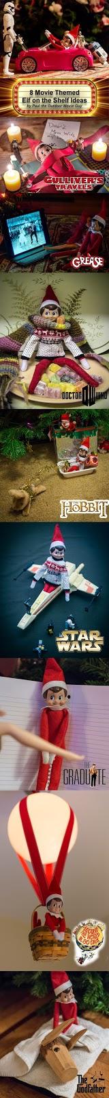 8 Movie Themed Elf on the Shelf Ideas