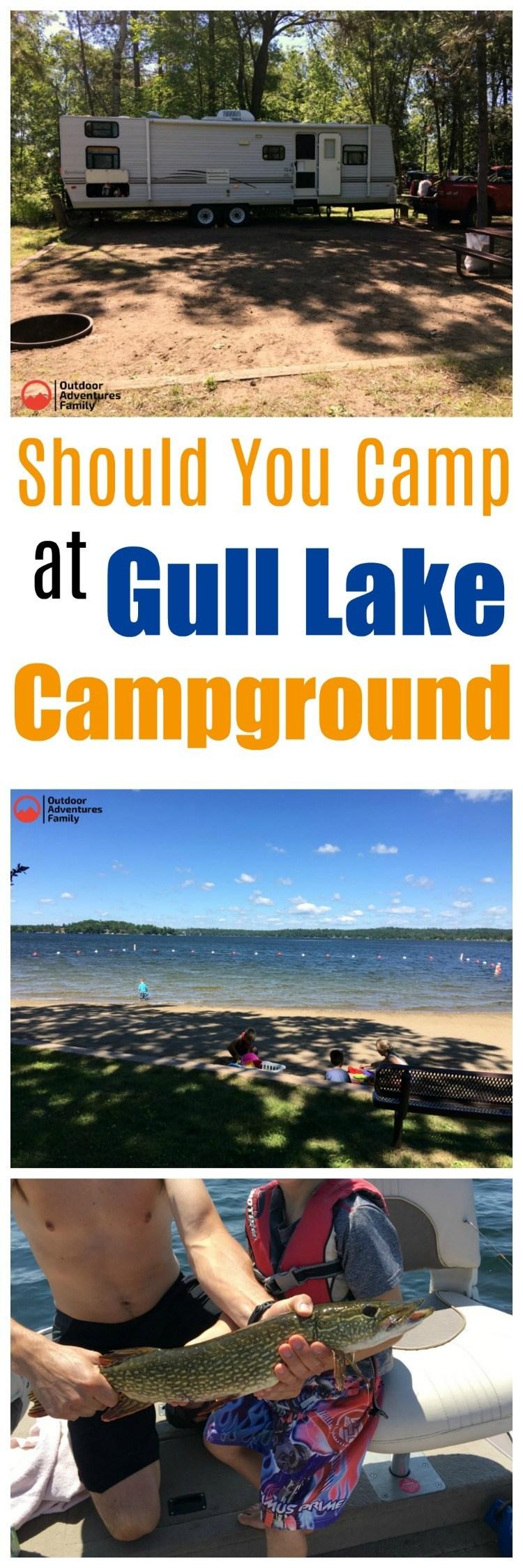 should you camp at Gull Lake campground