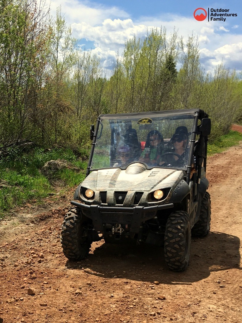 Off road vehicle trails near akeley mn campground