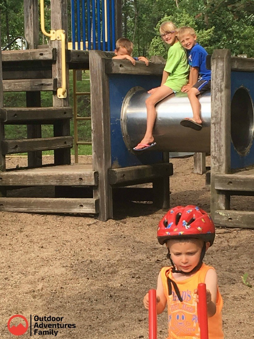 Gull Lake Campground Playground