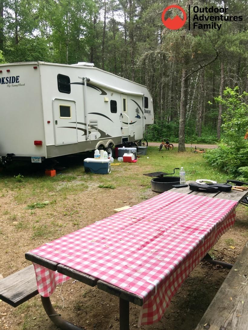 zippel bay campsite