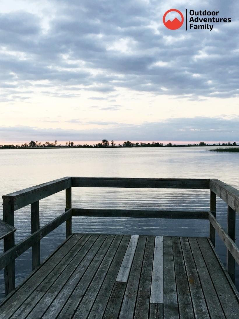 Zipple Bay fishing pier