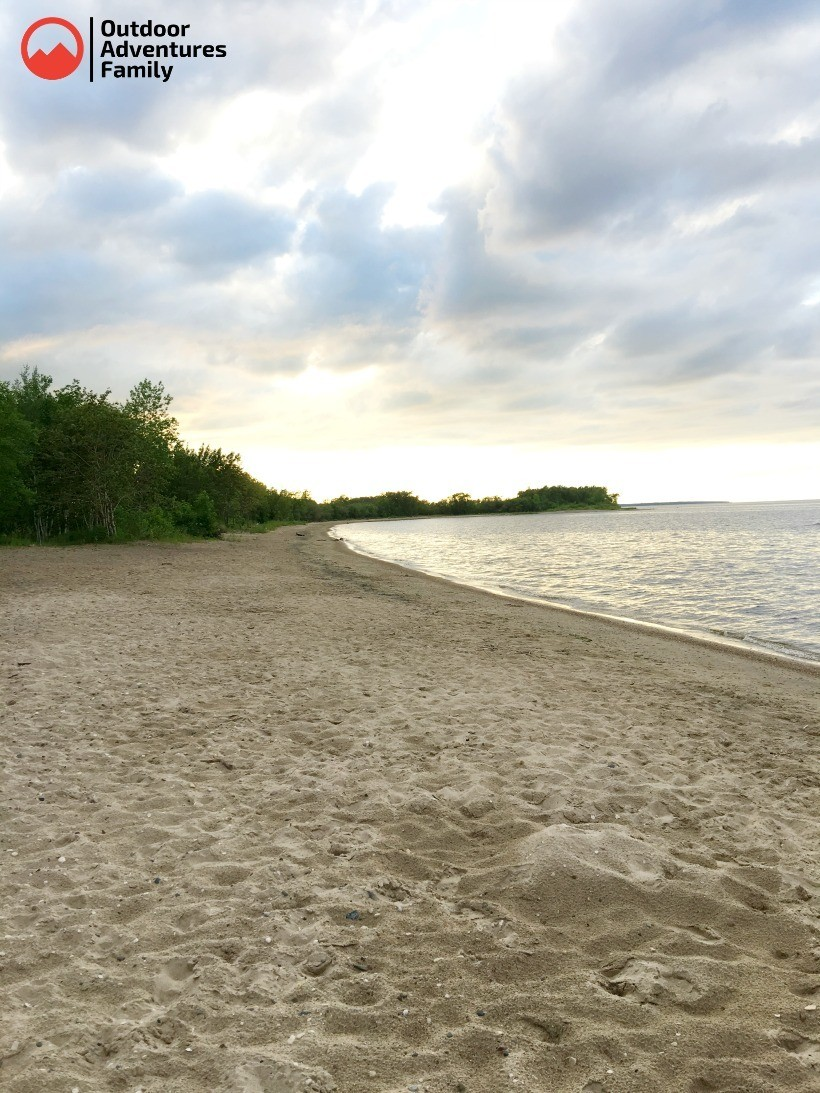 Zippel Bay public beach