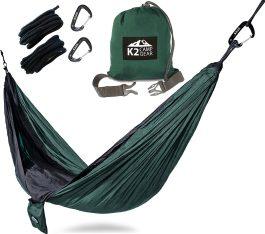 double camping hammock by k2 camp gear