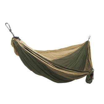 Grand Trunk Single Parachute Nylon Hammock with Carabiners