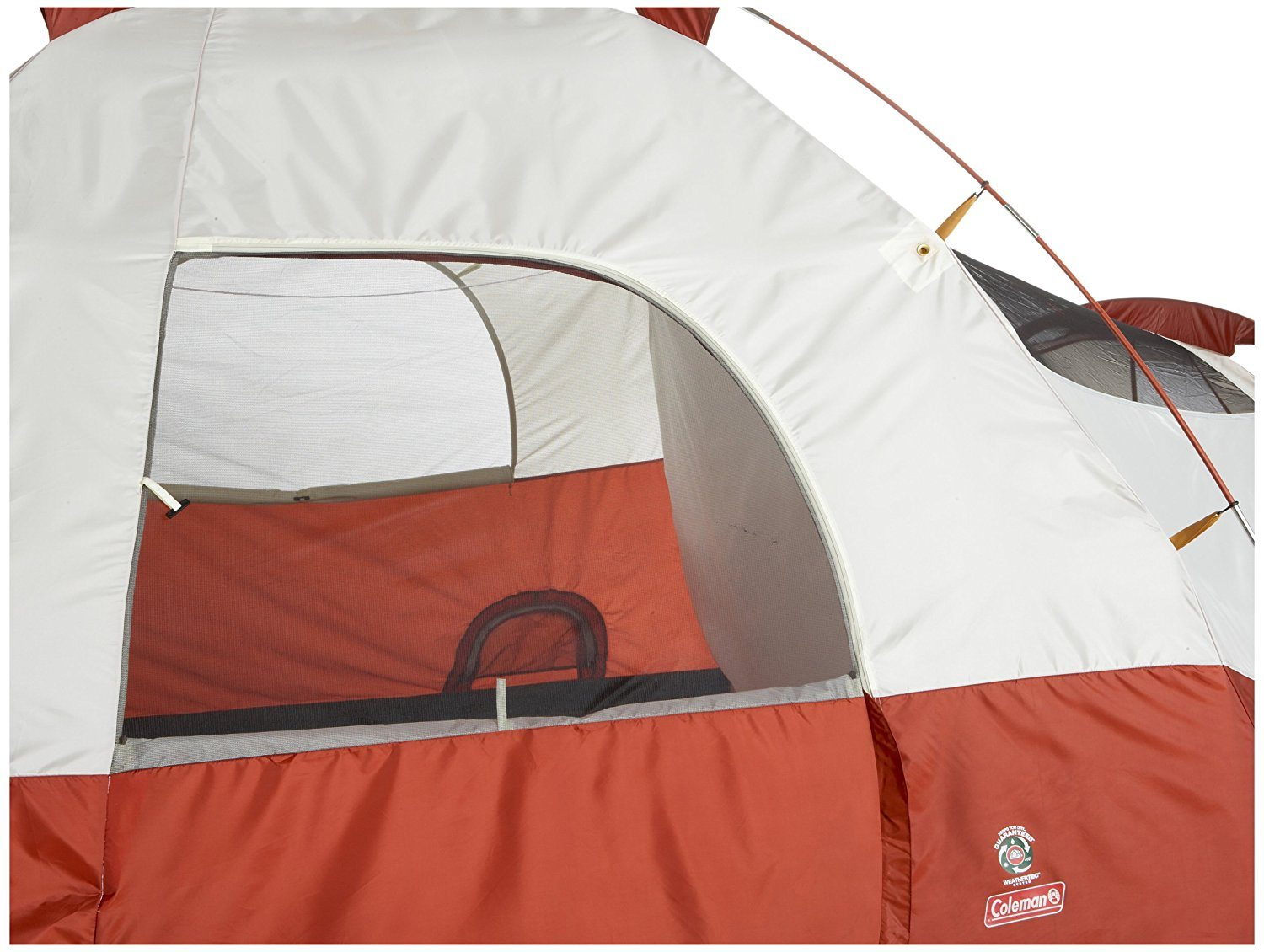 COLEMAN RED CANYON 8 PERSON TENT window
