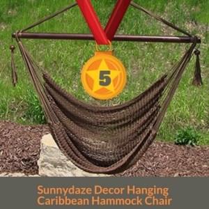 Sunnydaze Decor best Hanging hammock