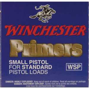 Winchester Small Regular Pistol Primers