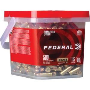 Federal Premium Champion 9mm Luger 115-Grain