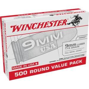 9mm Luger 115 Grain Handgun