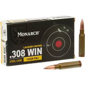 308 win ammo175 GR FMJ Sierra Matchking 500 RDS