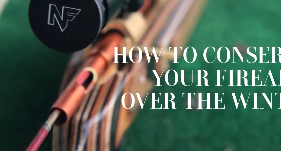 How to properly prepare your rifle for winter use / conserve your firearm over the winter