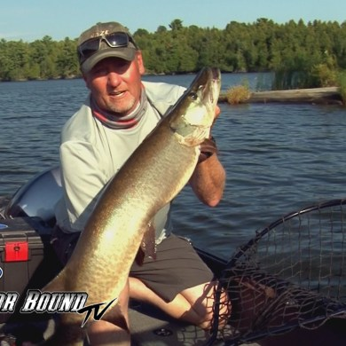 Outdoor Bound TV Musky Fishing Northwest Angle
