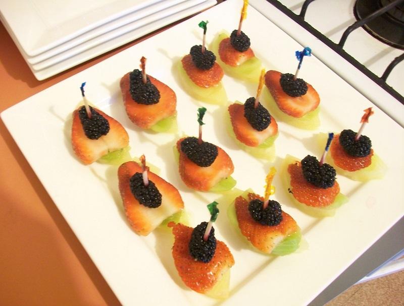 Finger Food Ideas For Wedding Reception