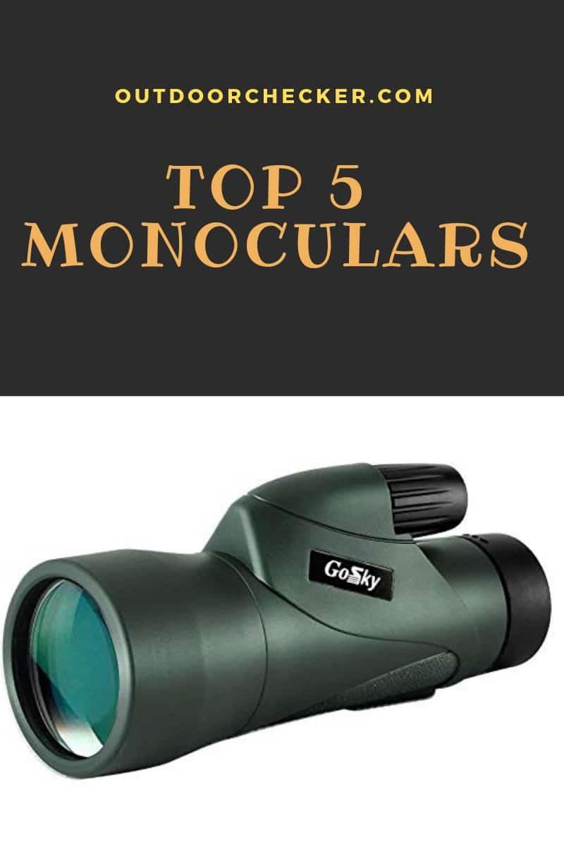 Monocular: Best Monoculars You Can Buy