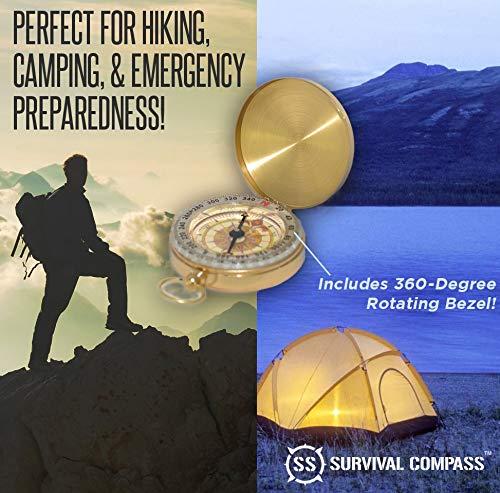 Sharp Survival Best Camping Survival Compass