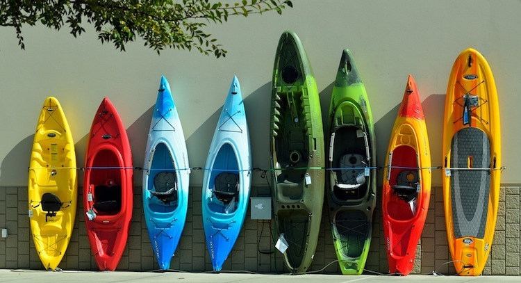 colourful-kayaks