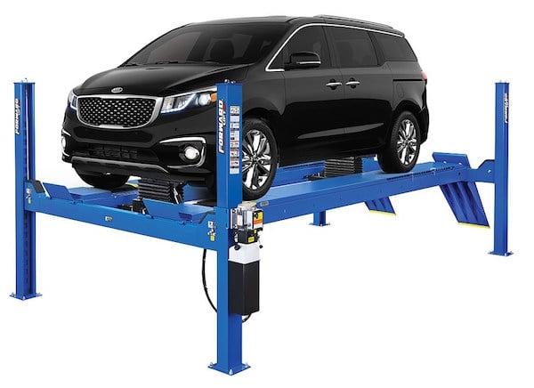 Post Car Lift Process Front Wheel Drive